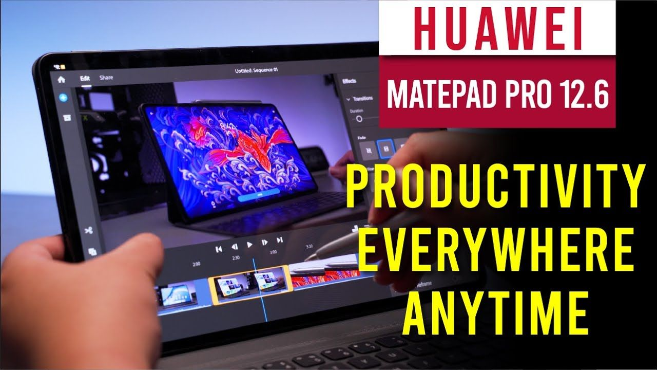 Huawei Matepad Pro 12.6 full review - The in between productivity machine 15