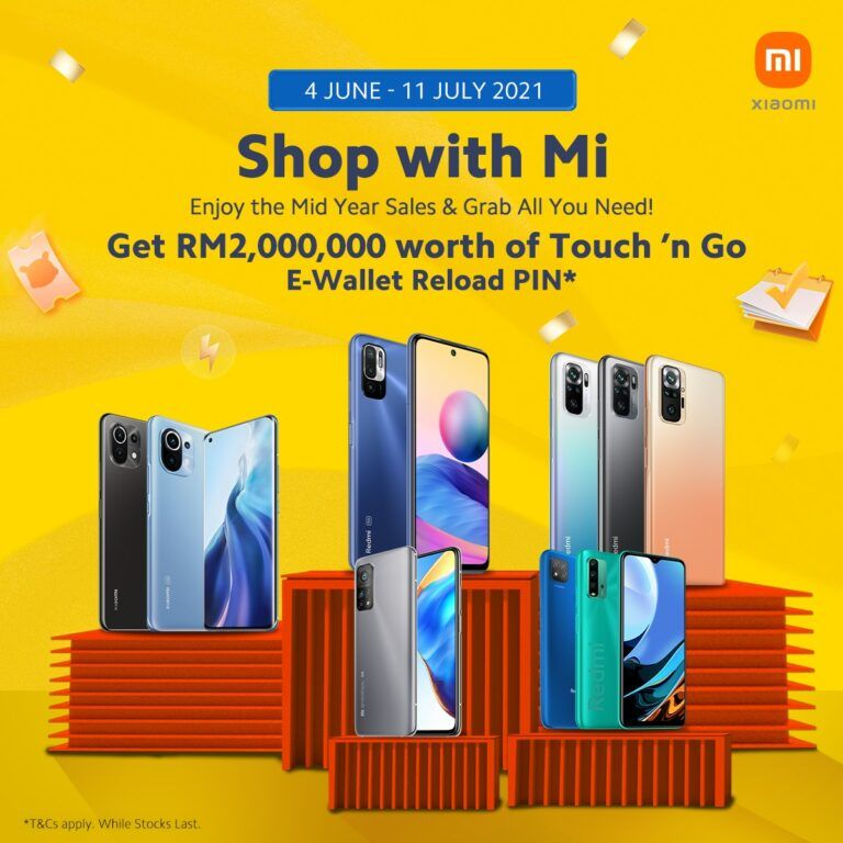 RM2 Million Touch 'n Go Credits Available With Xiaomi's New 'Shop With Mi' Campaign 24