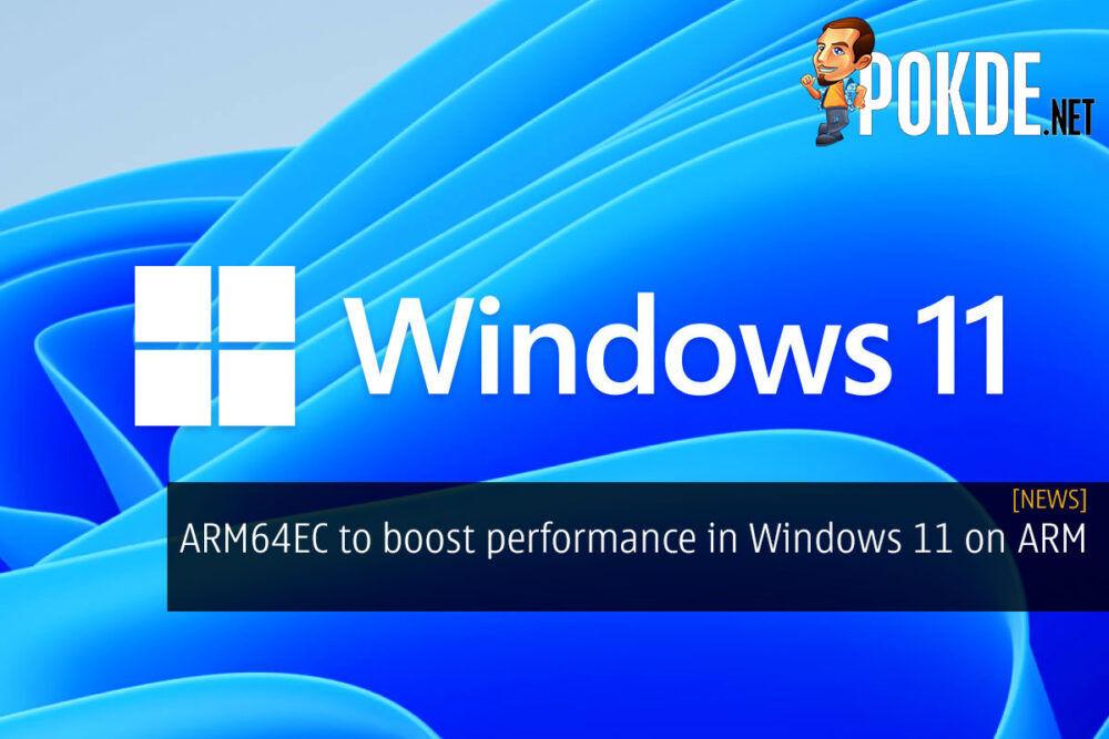 arm64ec performance windows 11 on arm cover