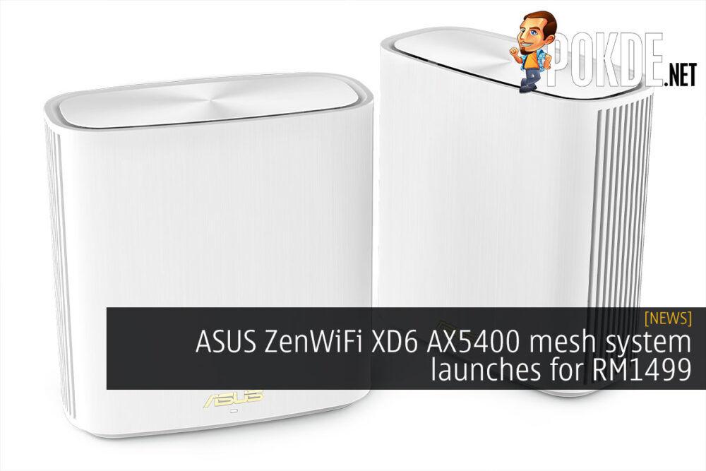 asus zenwifi xd6 ax5400 mesh rm1499 cover