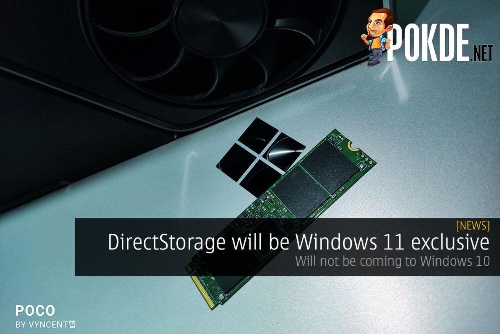 directstorage windows 11 exclusive cover