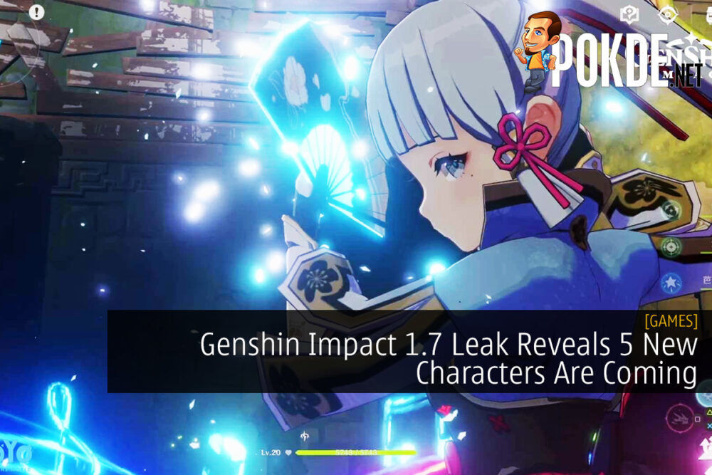 Genshin Impact 1.7 Leak Reveals 5 New Characters Are Coming