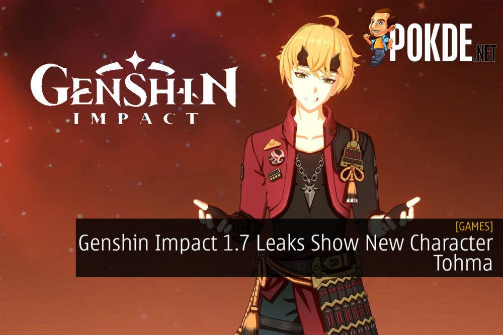 Genshin Impact 1.7 Leaks Show New Character Tohma