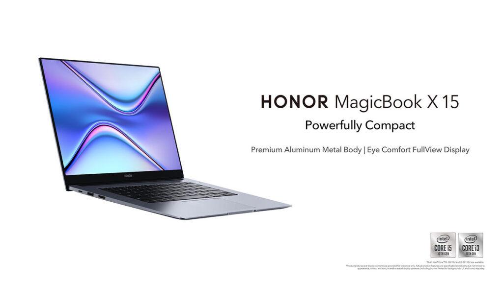 honor magicbook x 15 malaysia visual