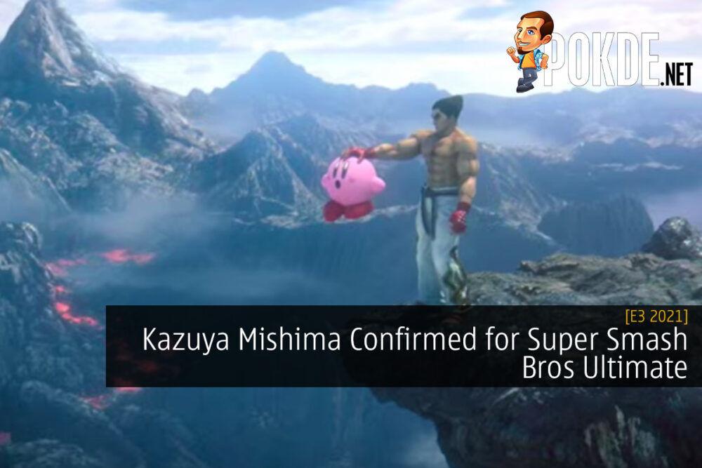[E3 2021] Kazuya Mishima Confirmed for Super Smash Bros Ultimate