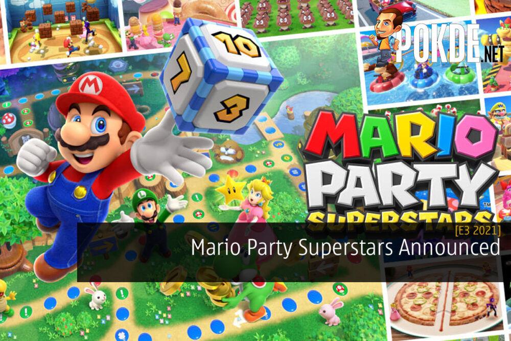 [E3 2021] Mario Party Superstars Announced
