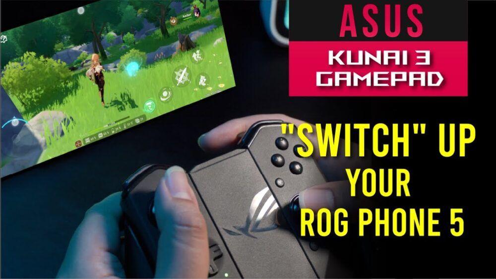 "ROG Kunai 3 Gamepad Full Review - ""Switch"" up your ROG Phone 5 22"
