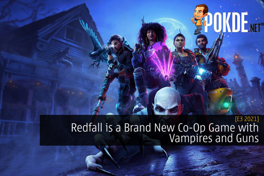 [E3 2021] Redfall is a Brand New Co-Op Game with Vampires and Guns