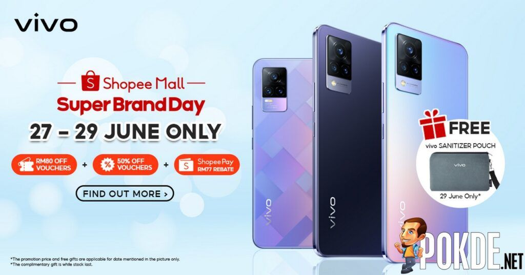 Shopee Super Brand Day Sees vivo Offer Limited-Time Promotions From 27 June 23
