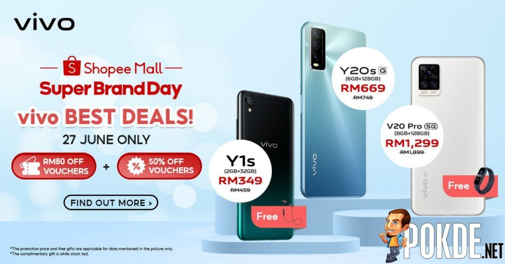 Shopee Super Brand Day Sees vivo Offer Limited-Time Promotions From 27 June 24