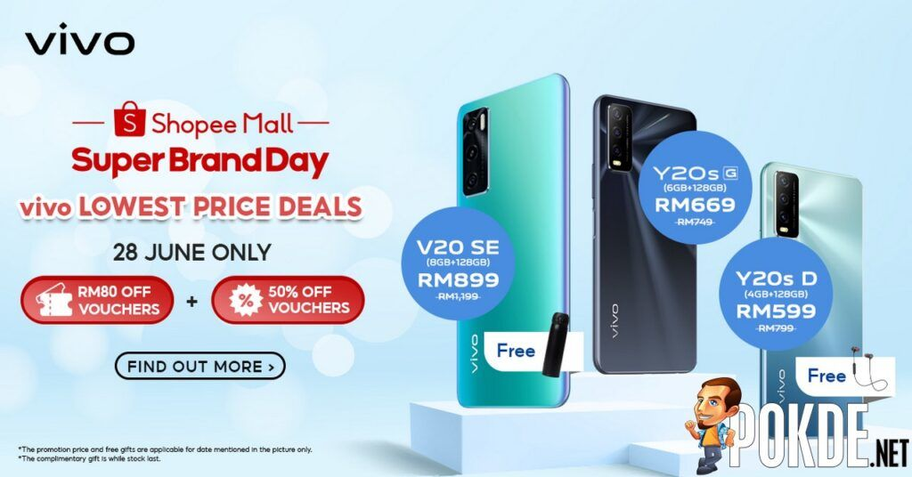 Shopee Super Brand Day Sees vivo Offer Limited-Time Promotions From 27 June 25