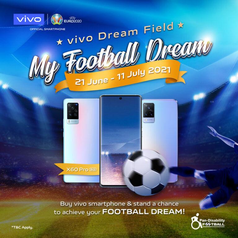 vivo My Football Dream contest