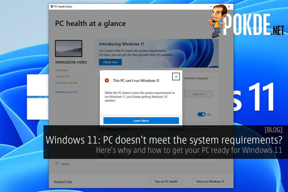 windows 11 pc requirements cover