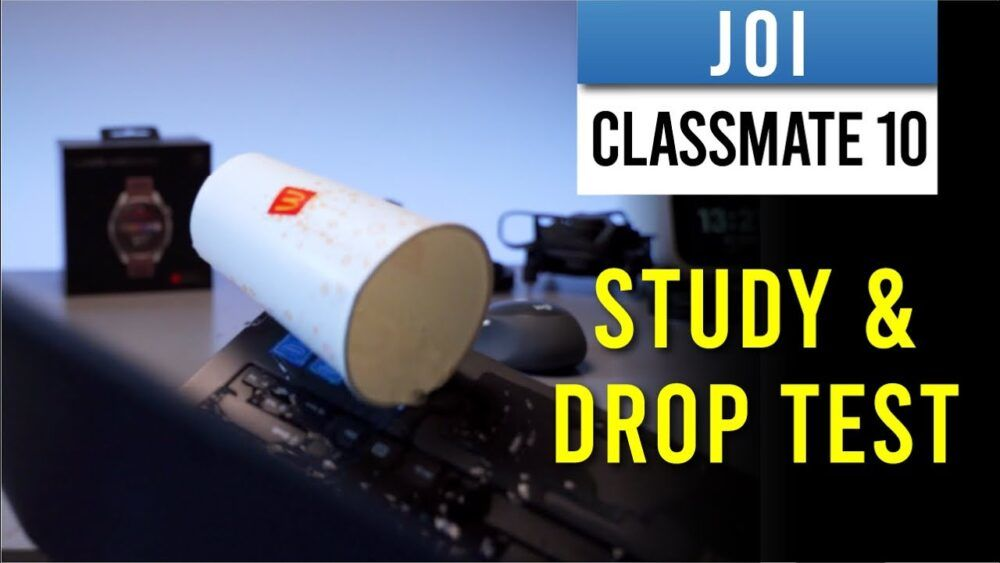 Joi Classmate 10 full review - simple student laptop with drop test 22