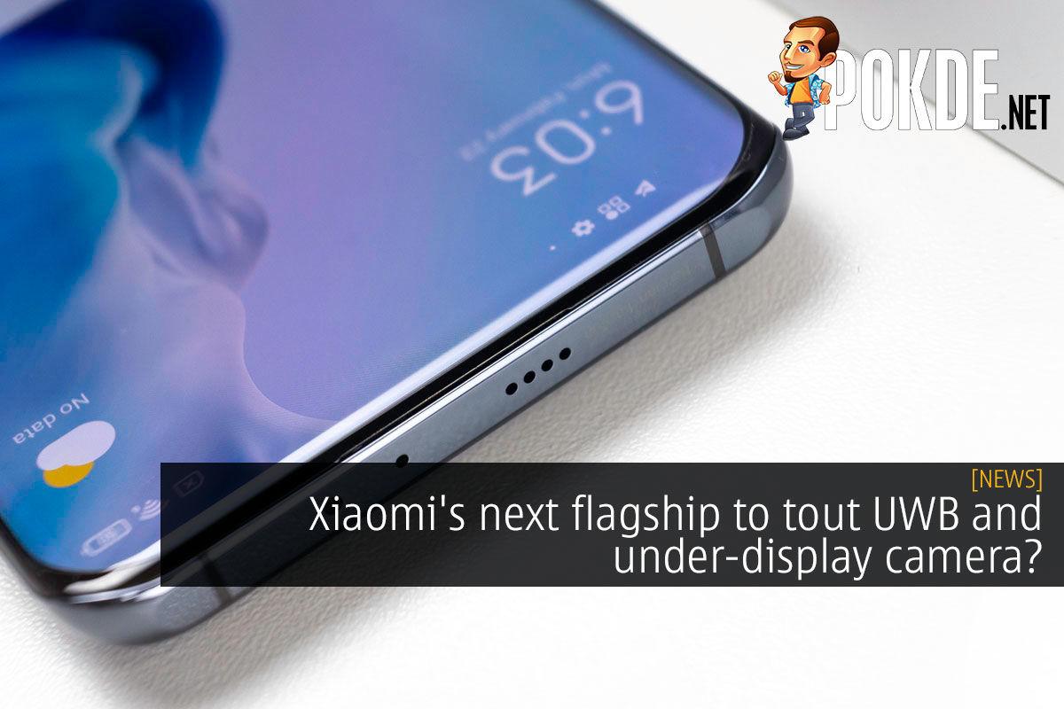 xiaomi flagship uwb under display camera cover