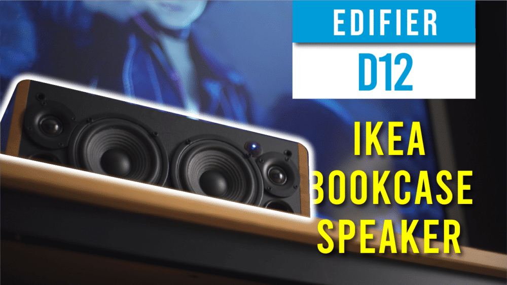 Edifier D12 Full Review - The perfect speaker for Ikea Billy Bookcase 23