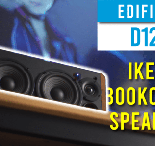 Edifier D12 Full Review - The perfect speaker for Ikea Billy Bookcase 21