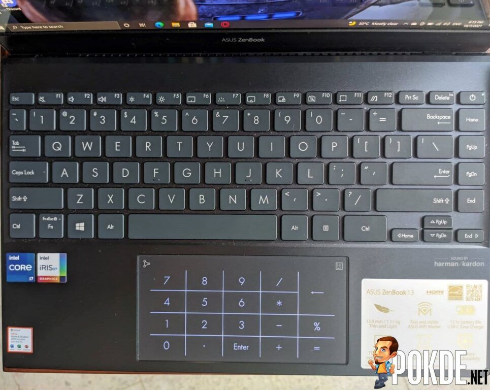 ASUS ZenBook 13 OLED (UX325) Review - Small but powerful 32