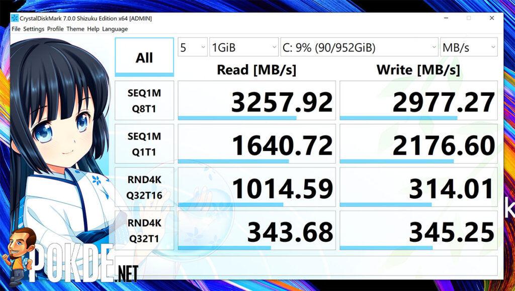 ASUS ZenBook Pro Duo 15 OLED review CrystalDiskMark