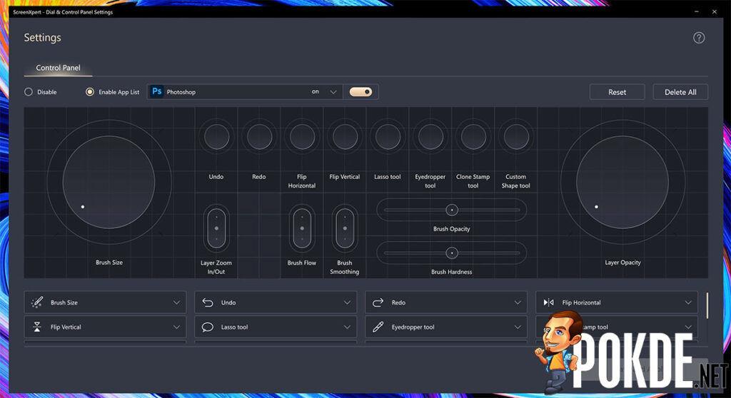 ASUS ZenBook Pro Duo 15 OLED review ScreenPad Control Panel setting