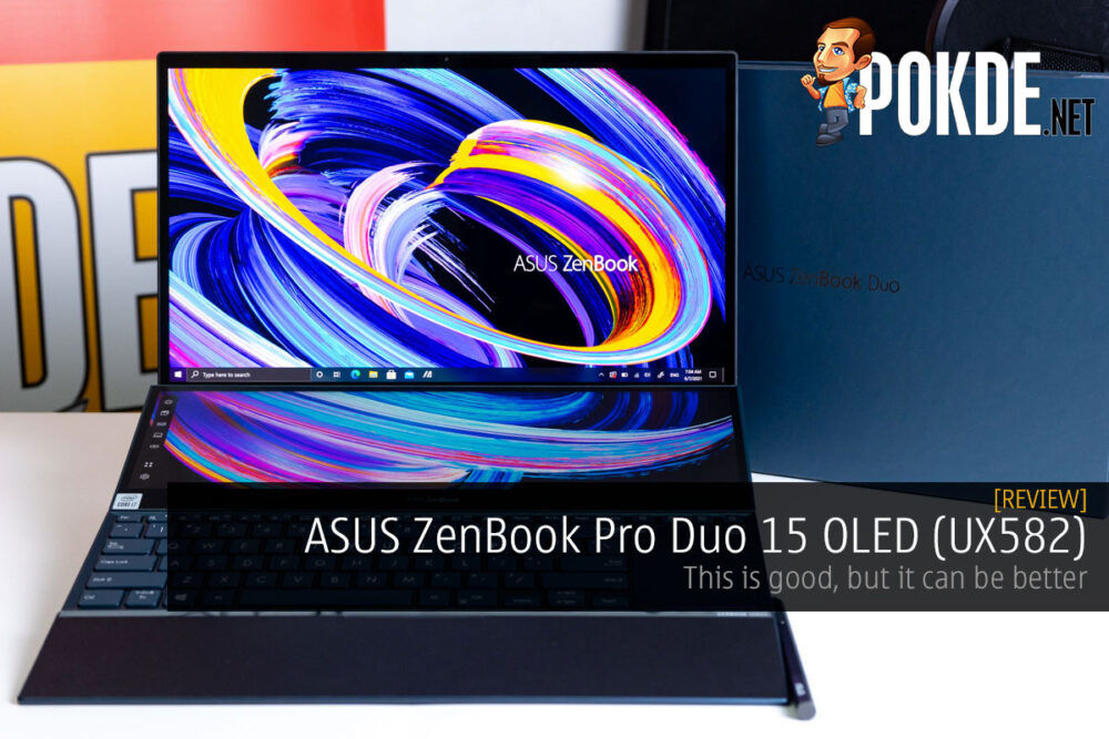 ASUS ZenBook Pro Duo 15 OLED review cover