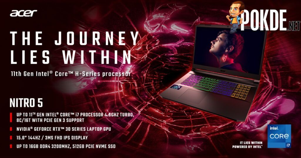 New Acer Nitro 5 With 11th Gen Intel Core H-series Mobile Processors Announced 20
