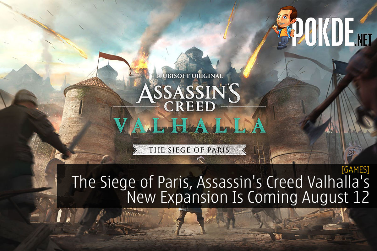 Assassin's Creed Valhalla's New Expansion, The Siege of Paris cover