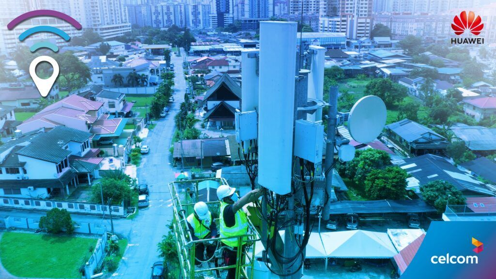 Celcom And HUAWEI Deploys World's First Big Scale Smart 8T8R Network 23