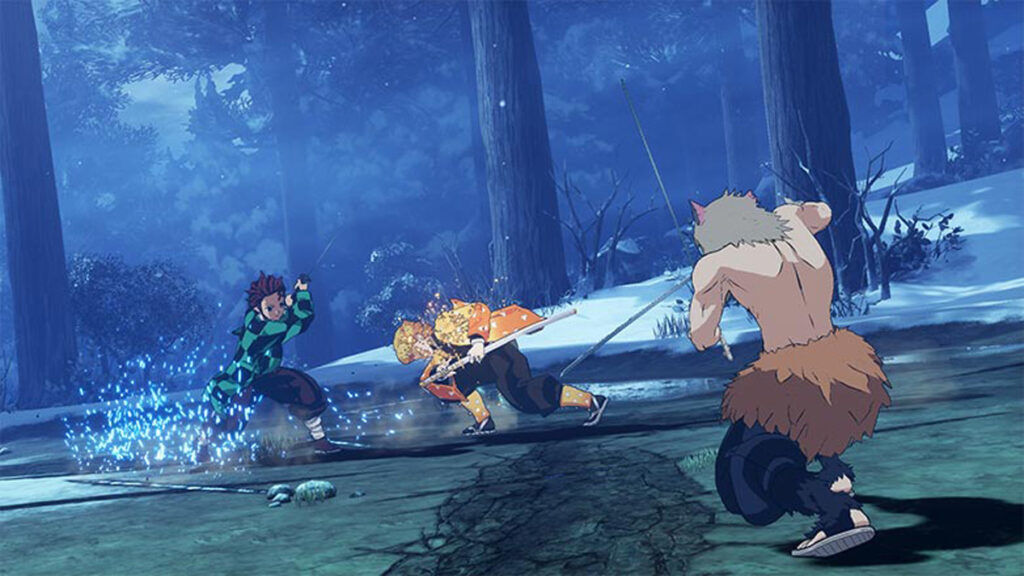 Demon Slayer Kimetsu no Yaiba - The Hinokami Chronicles gameplay