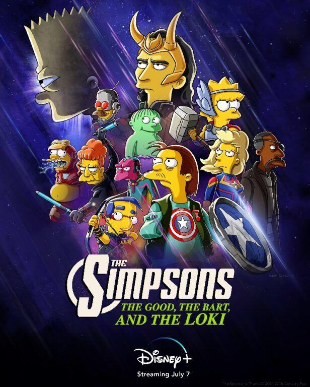 Disney+ Hotstar The Good, The Bart, and The Loki