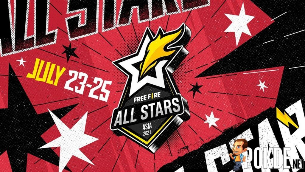 Free Fire All Stars 2021 Asia Is Coming LIVE From 23 To 25 July 23