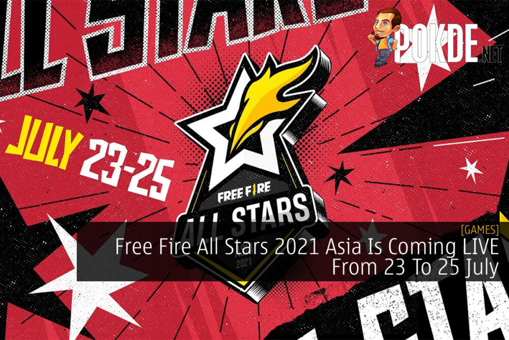 Free Fire All Stars 2021 Asia cover