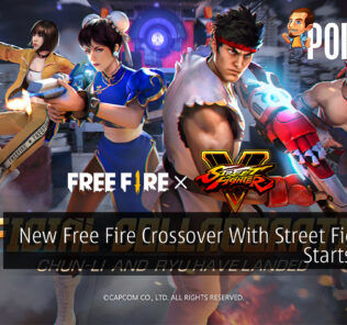 Free Fire x Street Fighter V cover