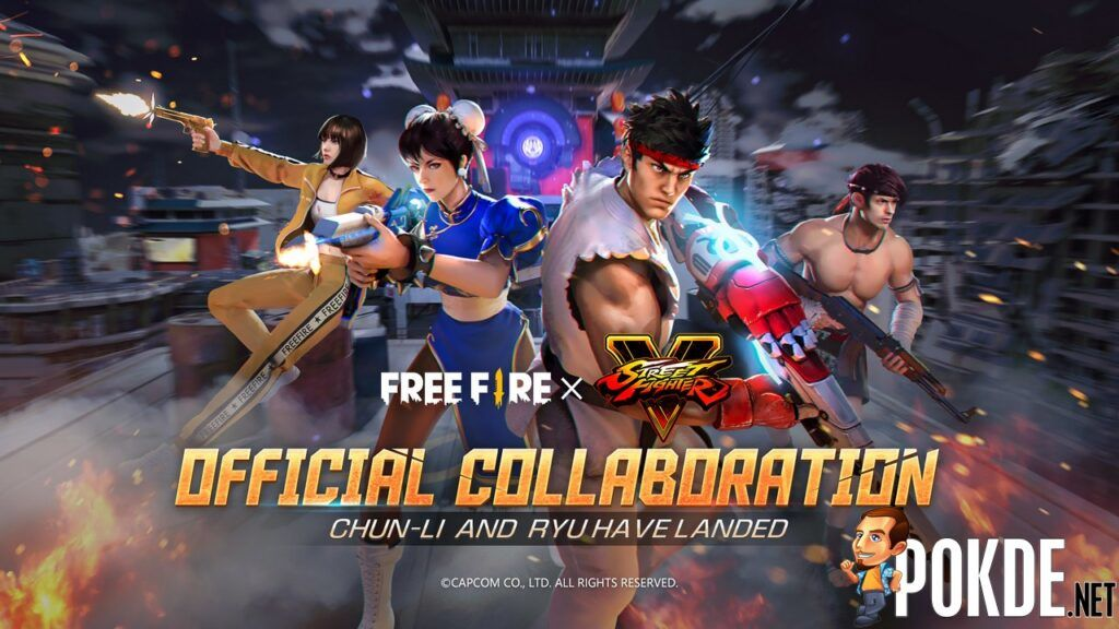 New Free Fire Crossover With Street Fighter V Starts Today 21