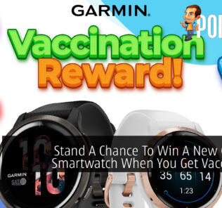 Garmin Malaysia Instagram Vaccination Competition cover