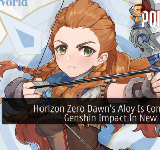 Genshin Impact Horizon Zero Dawn Aloy cover