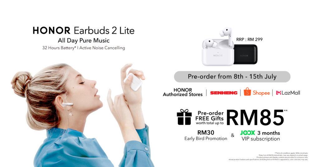 HONOR Earbuds 2 Lite Malaysia