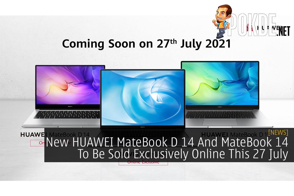 HUAWEI MateBook D 14 and MateBook 14 cover