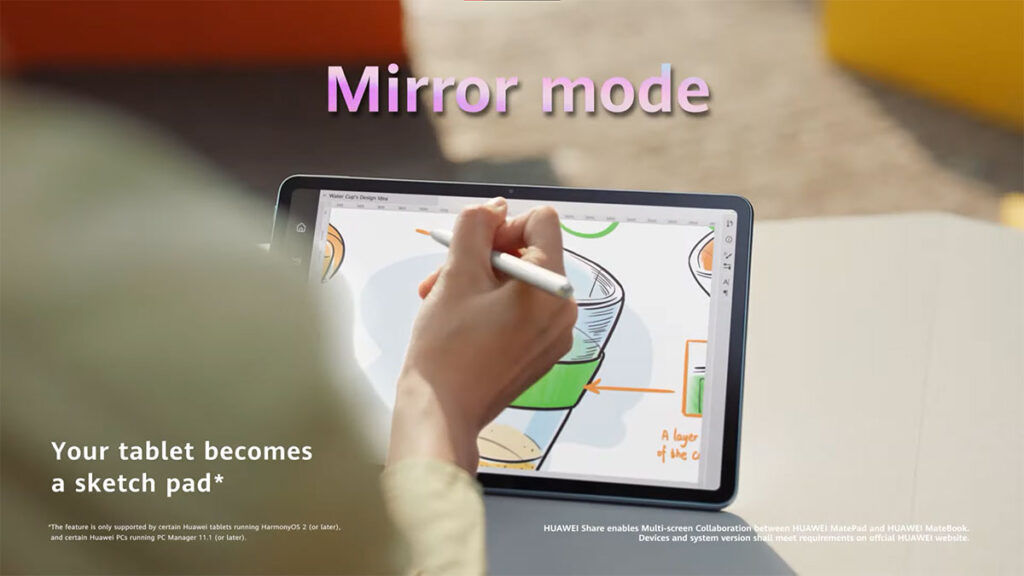HUAWEI MatePad 11 Mirror Mode