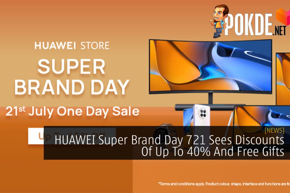 HUAWEI Super Brand Day 721 cover