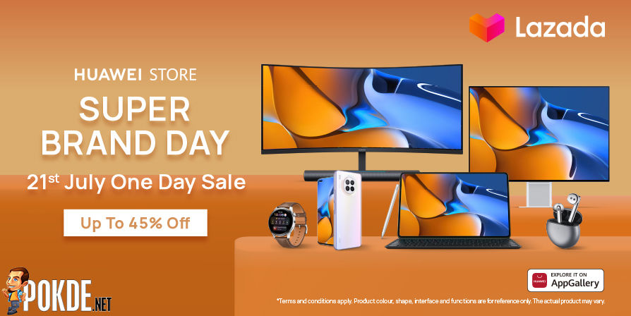 HUAWEI Super Brand Day 721 Sees Discounts Of Up To 40% And Free Gifts 21