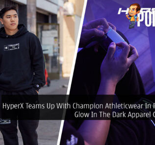 HyperX Teams Up With Champion Athleticwear In Releasing Glow In The Dark Apparel Collection 26