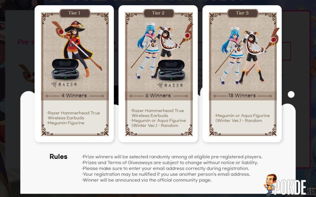 New Mobile RPG KonoSuba Fantastic Days Is Now Open For Pre-registration 22