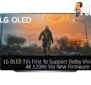 LG OLED TV Dolby Vision HDR 4K 120Hz cover