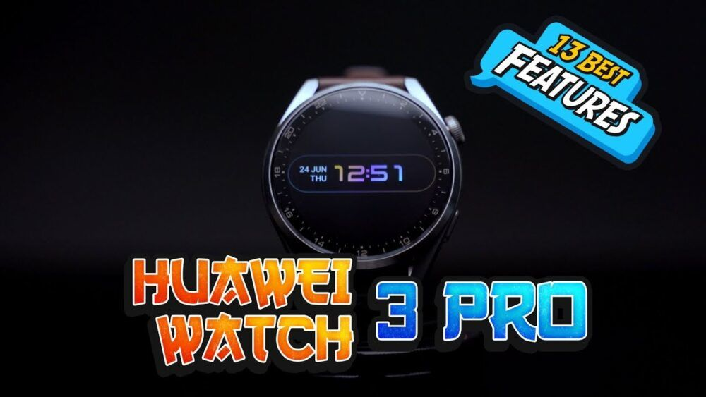 13 Best Feature of Huawei Watch 3 Pro - While stuck in washing machine 22