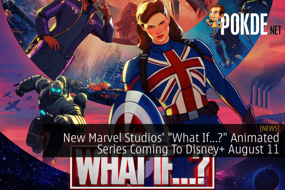 """Marvel Studio's """"What If...?"""" cover"""