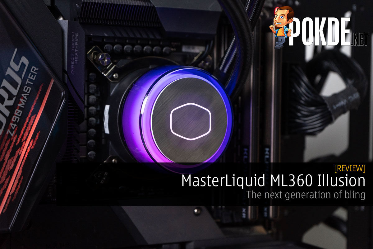 MasterLiquid ML360 Illusion Review — the next generation of bling 6