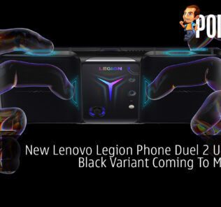 New Lenovo Legion Phone Duel 2 Ultimate Black Variant Coming To Malaysia 21