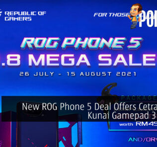 New ROG Phone 5 Deal Offers Cetra II Plus Kunai Gamepad 3 Promo 30