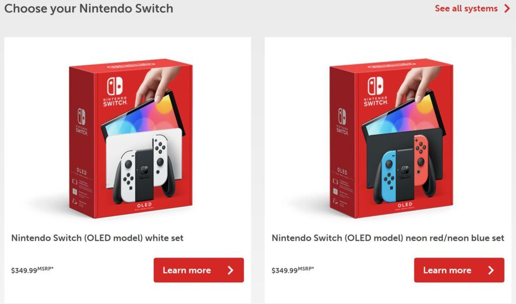 Nintendo Switch OLED Model Fully Revealed - Coming This October 2021